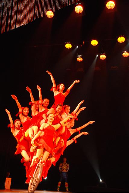 dongtu theatre acrobatic show